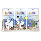 手作りムーミン ミルクチョコレート 三箱セット 55g×3箱 (エッグフリー グルテンフリー ナッツフリー) フィンランドのお菓子です Moomins Milk Chocolate Buttons (Nut-free, Gluten-free, Egg-free, Kosher, Vegetarian)