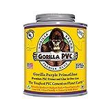 Raven R1584P Gorilla Purple PVC Cement 8 oz Medium Body PrimaGlue