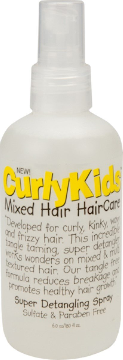 Curly Kids Super Detangling Spray, 6.0 oz (Pack of 3)