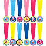 amscan Award Medals   Peppa Pig Collection   Party Accessory