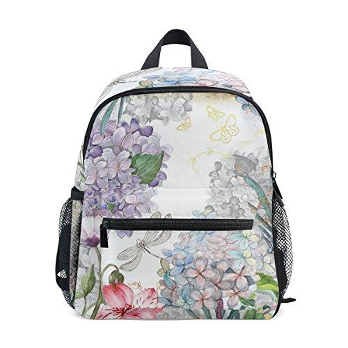 Floral nbsp;Bag nbsp;Backpack nbsp;Girls nbsp;Toddler Watercolor ZZKKO nbsp;for Boys Kids nbsp;School nbsp;Book 5qpgaYxH