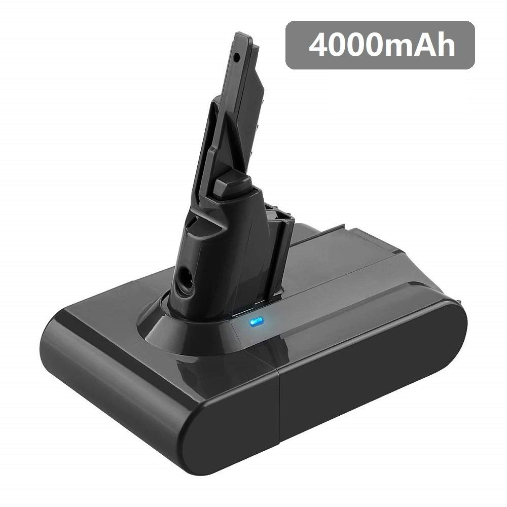 4000mAh Replacement for Dyson V7 Battery Compatible with Dyson 21.6v V7 Motorhead Pro Trigger Animal Car+Boat Vacuum Cleaner