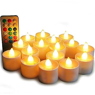 Flameless Candles, LED Tea
