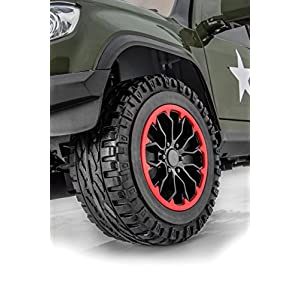 SPORTrax-Offroad-Painted-4WD-Kids-Ride-On-Truck-Battery-Powered-Remote-Control-wFREE-MP3-Player-P-Green