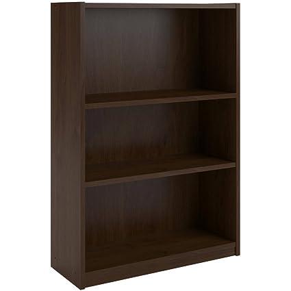 Amazon.com: Ameriwood 3-shelf Bookcase, Multiple Finishes. Ideal ...
