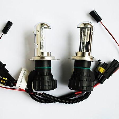 9004 9007-6000K Innovited 55W HID Xenon Bi-xenon Hi//Lo Dual Beam Replacement Bulbs