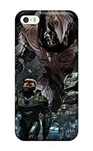 Awesome Design Halo Hard Case Cover For Iphone 5/5s hjbrhga1544
