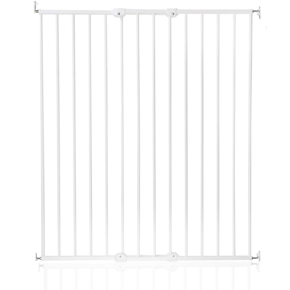 Safetots Extra Tall tornillo ajustable bebé puerta de seguridad, color blanco Safetots Limited ST-57616-2400-26