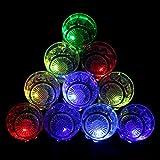 Homecube 24 Flash Light Up Cups Flashing Shots Light 24 LED Bar Night Club Party Drink