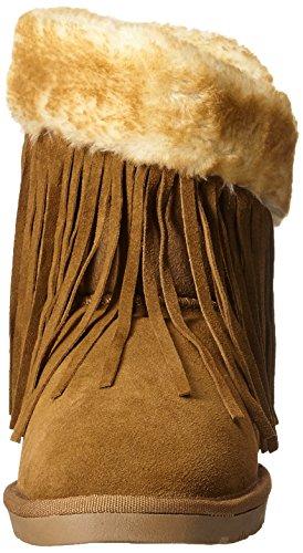 Women's Wrap Chestnut Boot Lamo Fringe qPx87XX