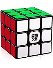 D-FantiX Moyu Weilong GTS V2 M Magnetic Speed Cube 3x3, Weilong GTS2 M Magic Cube Puzzle Black
