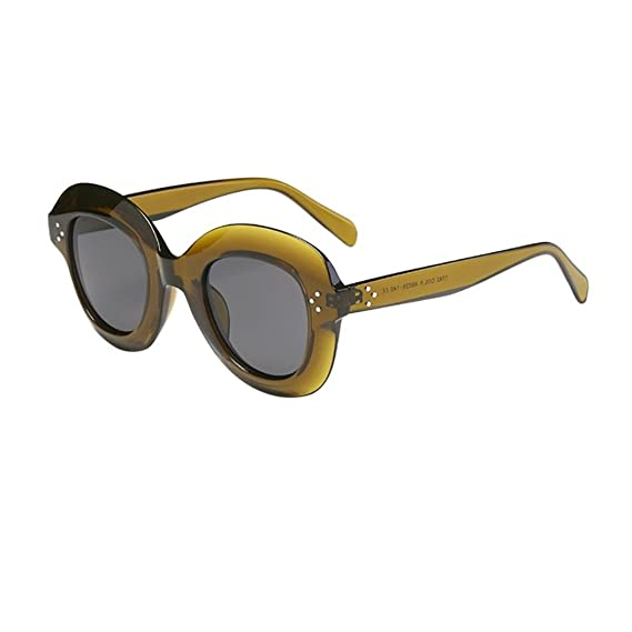 Keepwin Verano Nuevo Mujer Oversized Gafas De Sol Polarizadas ProteccióN Grande Marco (A): Amazon.es: Ropa y accesorios