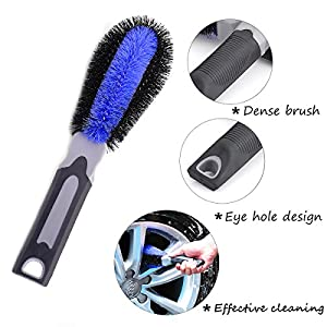 Wheels Brush for Car Auto Motorcycle Bike Tire Rim Scrub Washing Cleaning Tool