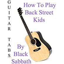 "How To Play ""Back Street Kids"" By Black Sabbath - Guitar Tabs"