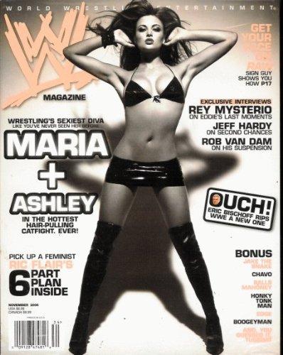 WWE Magazine 2006 November - Maria + Ashley pdf