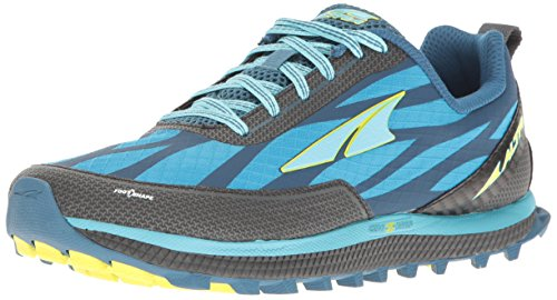 Altra Women's Superior 3 Running Shoe Blue/Lime 6 M US