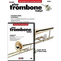 Hal Leonard Proline Play Trombone Today Beginner's Pack Book/CD/DVD (Standard)  By Varies