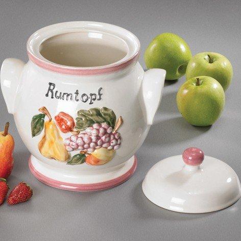 Rumtopf 4,5L Früchtedekor