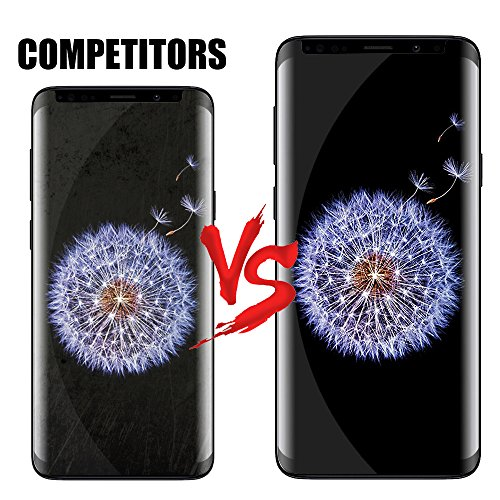 2 Pack TicTacTechs Galaxy S9 Tempered Glass Screen Protector [HD - Clear][Case Friendly][No bubbles] for Samsung Galaxy S9 by TicTacTechs (Image #2)