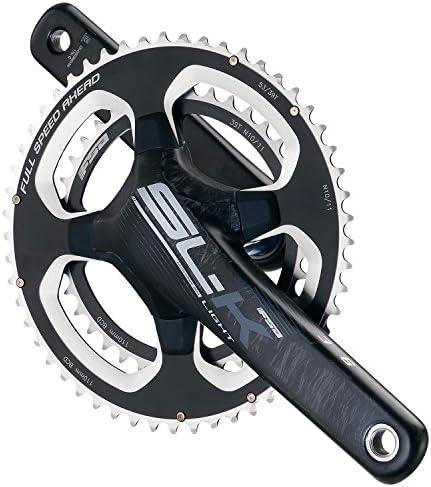 FSA(エフエスエー) 自転車 部品 パーツ ロードバイク クランク SL-K CK gray BB386 53x39 172.5 336-0069294033