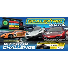 Scalextric Digital C1296 Pit Stop Challenge 1:32 Scale Race Set by Scalextric