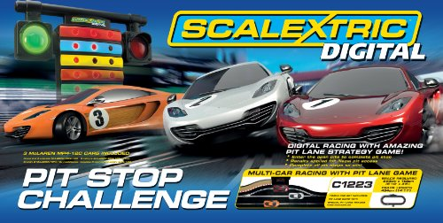 Scalextric 1:32 Digital Pit Stop Challenge Race Set - (32 Scale Digital System)