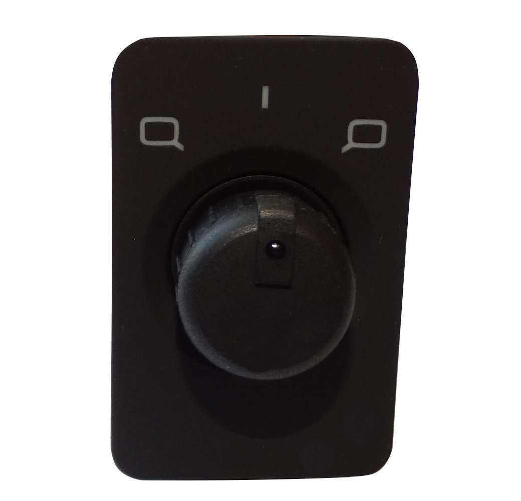 Aerzetix: Bouton de ré glage ré troviseurs laté raux compatible avec 4B1959565A C16158 SK2-C16158