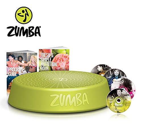 Zumba Incredible Results DVD set + Zumba Step Rizer | Dance yourself to a...