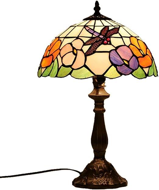 Lámpara De Noche, Lámparas de Mesa Estilo Tiffany, vitrales de ...