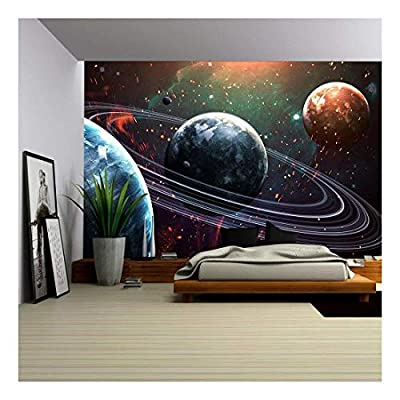 Outer Space Universe Wallpaper Wall Decor - Wall Murals