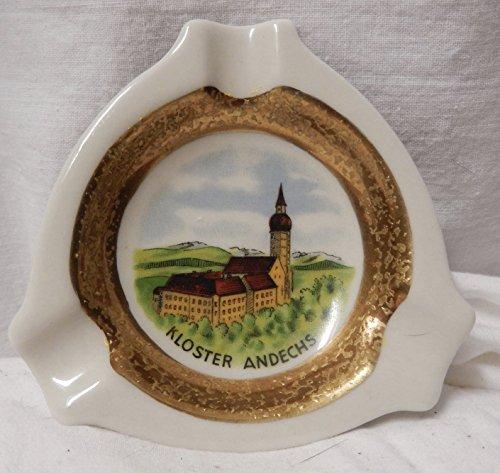 Vintage Royal Porzellan Bavaria KM Germany Handarbeit (Germany Ashtray)