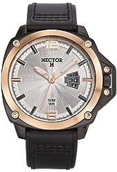 Hector Men's Silver Dial Date Watch