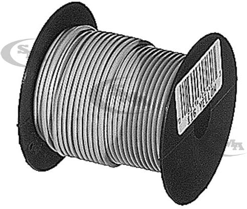 Primary Wire 18 Gauge X 100 Foot Black PW118B 118B