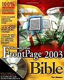 Microsoft Office FrontPage 2003, David Elderbrock and David Karlins, 0764539744