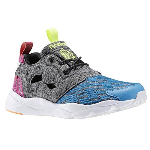 Reebok , Baskets pour femme Bleu blue/coal/pink/pch/yllw