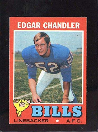 1971 TOPPS #86 EDGAR CHANDLER EXMT - 1971 Chandler