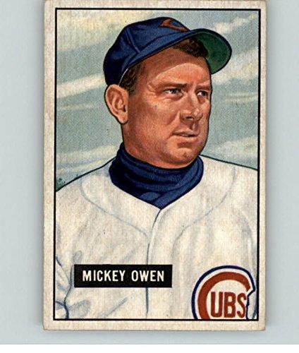 1951 Bowman #174 Mickey Owen Chicago Cubs Baseball Card Verzamelkaarten, ruilkaarten