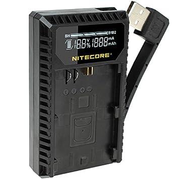 NITECORE ucn1 doble de cargador con cable USB para sacar ...