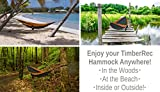 TimberRec Double Hammock - XL Parachute Camping Hammock for Indoor and Outdoor Use - Great for Hiking, Backpacking, in the Yard or on the Beach!