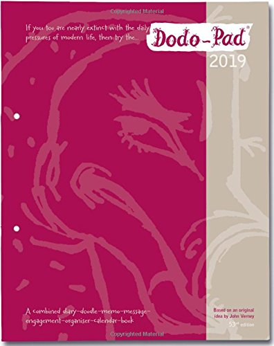 Dodo Pad LOOSE-LEAF Desk Diary 2019 - Week to View Calendar Year Diary: A Family Diary-Doodle-Memo-Message-Engagement-Organiser-Calendar-Book with room for up to 5 people's appointments/activities