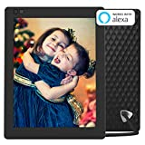 Electronics : Nixplay Seed 10 Inch WiFi Cloud Digital Photo Frame with IPS Display, iPhone & Android App, Free 10GB Online Storage and Motion Sensor (Black)