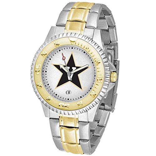 Vanderbilt Commodores Competitor Two-Tone Men's Watch