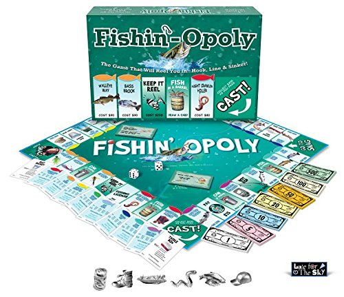 Fishin'-Opoly made our list of Gifts For Active Women, Gifts For Women Who Hike, Gifts For Women Who Fish, Gifts For Women Who Camp