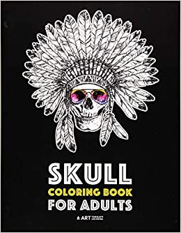 Amazon Com Skull Coloring Book For Adults Detailed Designs For Stress Relief Advanced Coloring For Men Women Stress Free Designs For Skull Lovers Great For Halloween Parties 9781641260220 Art Therapy Coloring Books