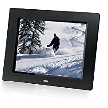 HP df810v1 8-Inch Digital Picture Frame (Contemporary Black) (Discontinued by Manufacturer)
