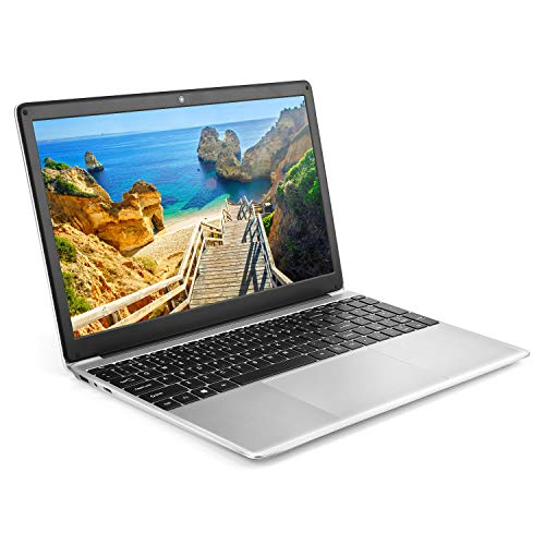 Image of YELLYOUTH Windows 10 Laptop 15.6 inch Ultraslim Notebook Computer PC, Intel Celeron