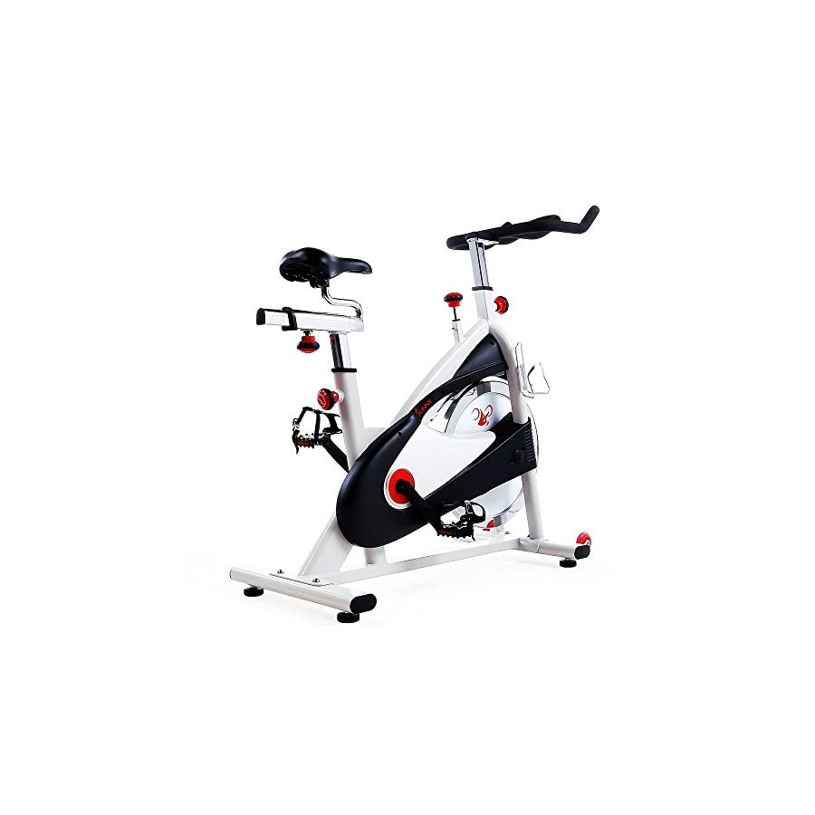 Sunny Health & Fitness SF B1509 Belt Drive Premium Indoor Cycling Bike