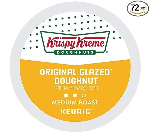 Krispy Kreme Cápsulas de café original glaseadas para ...