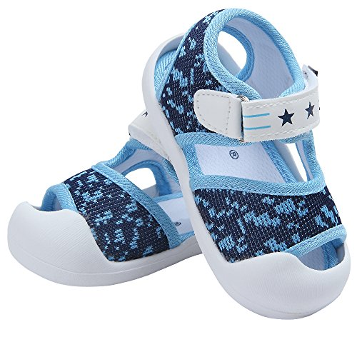 Pictures of Baby Summer Sandals Breathable Mesh Rubber Sole 3