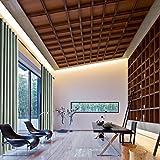 cololeaf Luxury Textured Faux Linen Curtains For Bedroom Living Room Study Patio Door,Window Treatment – Anti-Bronze Grommet – Grey Beige 52W x 63L Inch (1 Panel) Review